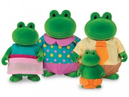[LW] Croakalily Frog Family