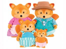 [LW] Tippytail Fox Family