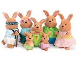 [LW] Cottonball Rabbit Family