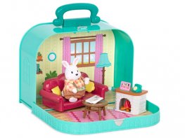 [LW] Travel Suitcase - Living Room Playset