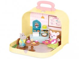 [LW] Travel Suitcase - Pastry Shop Playset