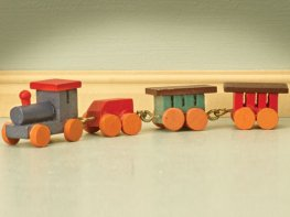 [DB] Wooden Toy Train