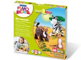 [FM] Fimo Kids Savannah Modelling Kit (*)