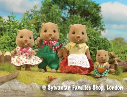 Buy Woodbrook Beaver Family Online Sylvanian Families