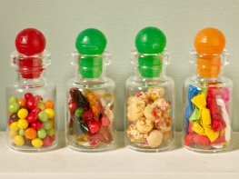 [DB] Set of 4 Jars of Sweets [B]