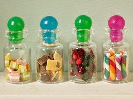 [DB] Set of 4 Jars of Sweets [C]