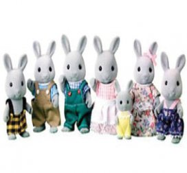 Babblebrook Grey Rabbits