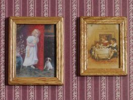 [DB] Paintings in Wooden Frames [pair]
