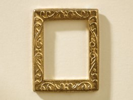 [DB] Rectangle Picture Frame - Gold