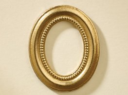 [DB] Oval Picture Frame - Gold