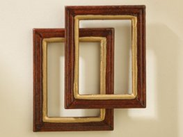 [DB] Wooden Picture Frames [pair]