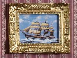 [DB] Framed Painting - Sailing Ship