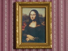[DB] Framed Painting - Mona Lisa