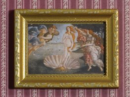 [DB] Framed Painting - Birth of Venus