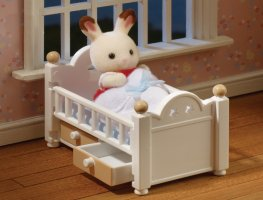 Buy Chocolate Rabbit Baby Set Online Sylvanian Families