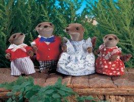 Buy Vandyke Otter Family Online Sylvanian Families