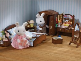 Buy master bedroom flair online sylvanian families for Sylvanian families beauty salon dressing table