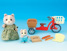 Buy Cycling With Mother Online Sylvanian Families