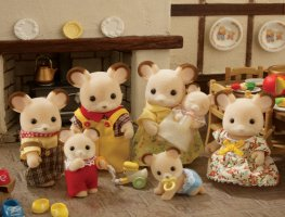 Buy Fielding Field Mouse Baby Online Sylvanian Families